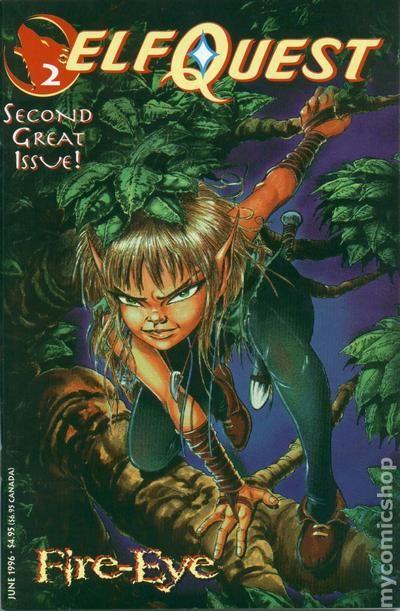 Blair Free Shipping >> Elfquest (1996 Warp) comic books