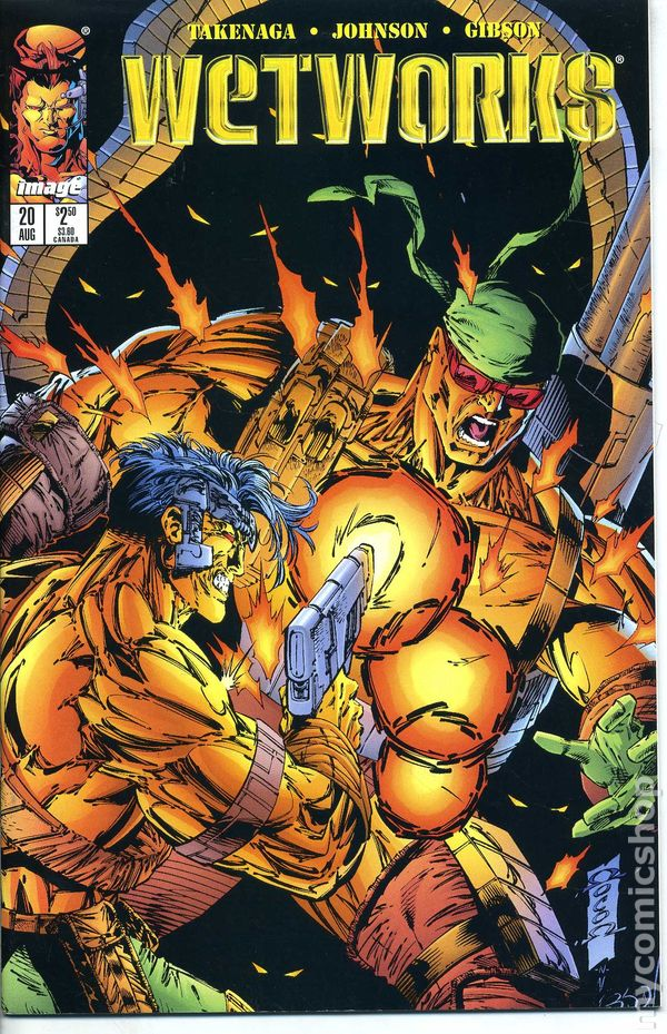 Wetworks #23 November 1996 Image Comics Takenaga
