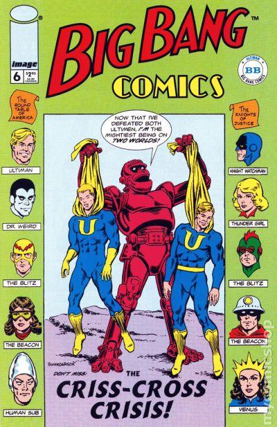 Big Bang Comics #9 VF 1997 Stock Image