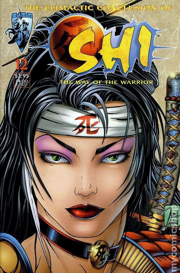 Shi the Way of the Warrior 1994 series # 3 near mint comic book