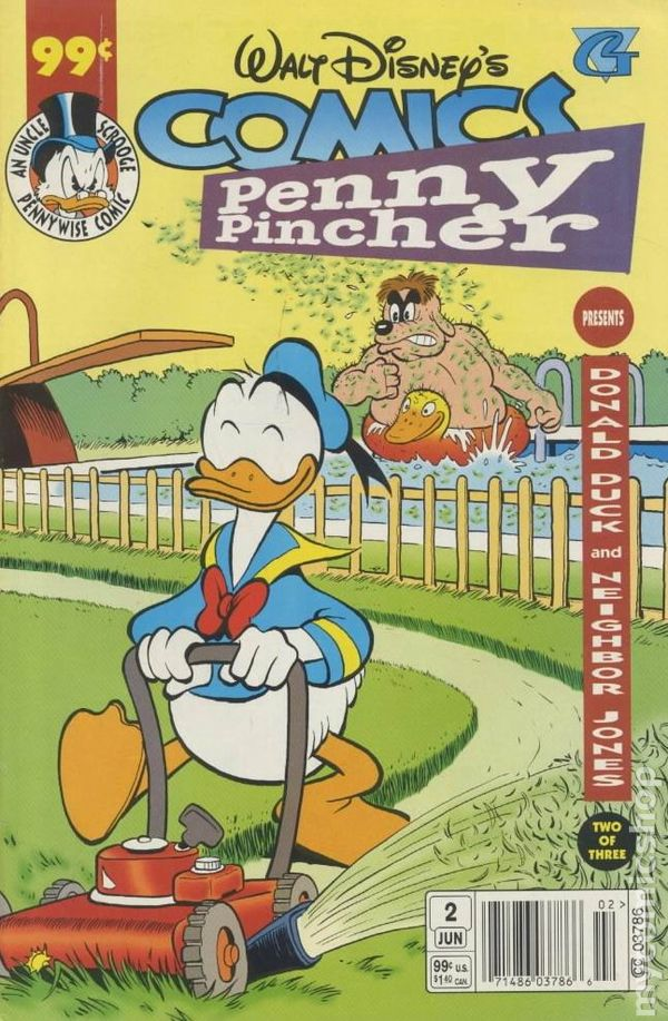 penny pincher 1997 walt disney donald duck comic books. Black Bedroom Furniture Sets. Home Design Ideas