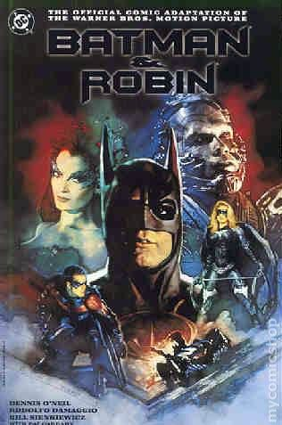 Batman And Robin 1997 Movie Comic Books