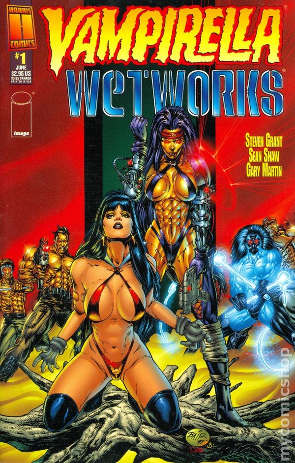Image result for Vampirella/Wetworks #1