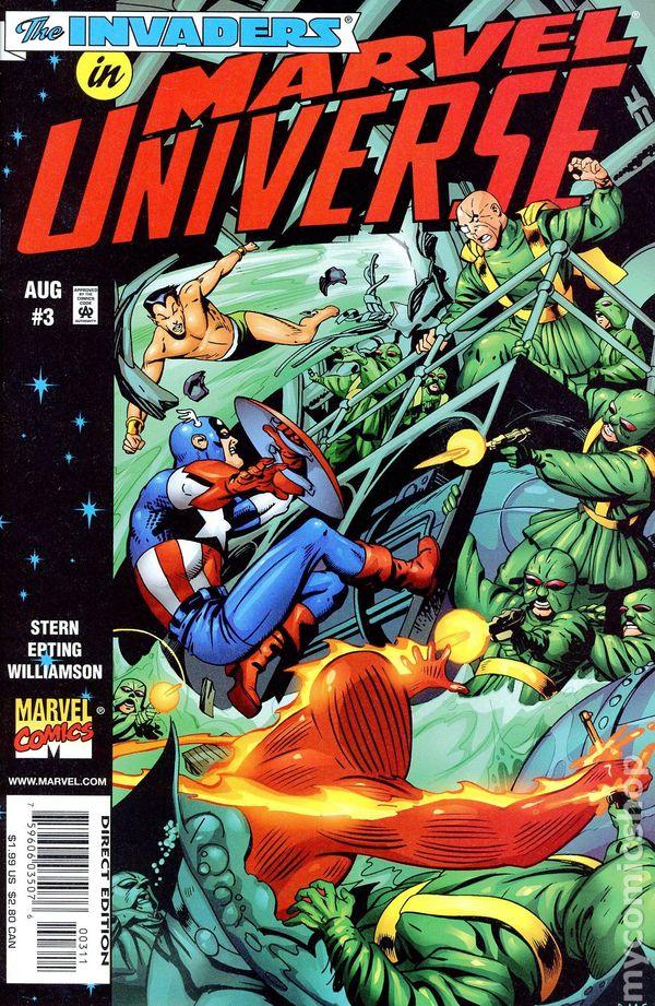 Marvel Universe #5 October 1998 Marvel Comics Captain America