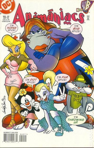Animaniacs (1995) comic books