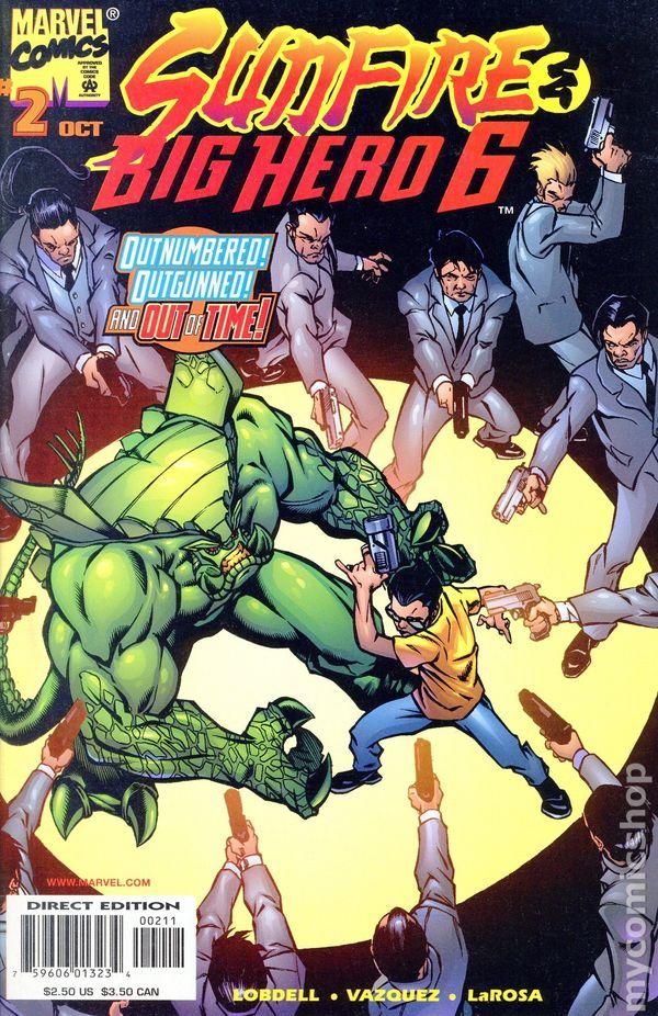Sunfire And Big Hero Six 1998 2
