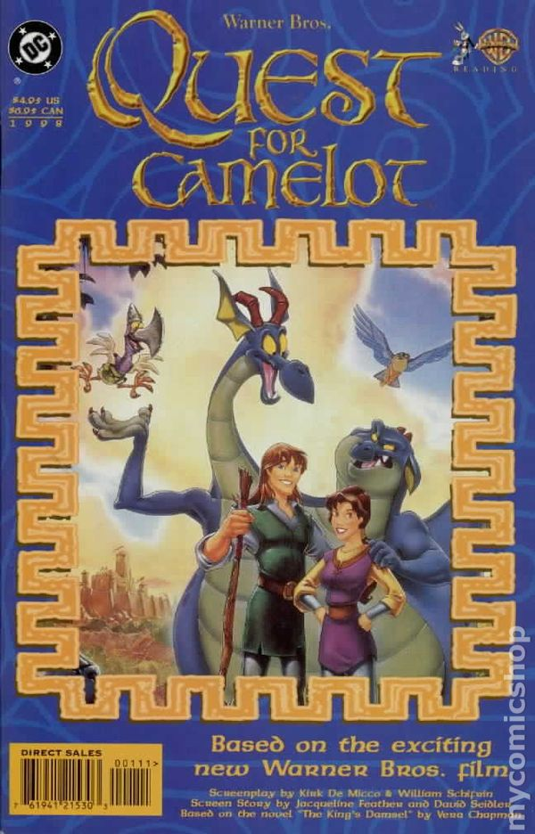Quest For Camelot 1998 Comic Books