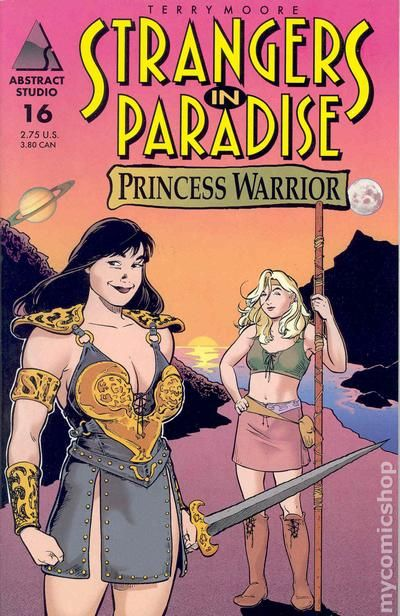 Strangers in Paradise #26 Abstract Studio Comic Book NM
