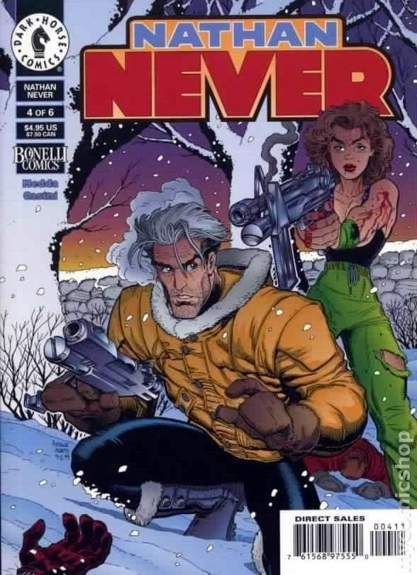 Comics Nathan Never 6 Of 6 Bonelli Comics Dark Horse Comics