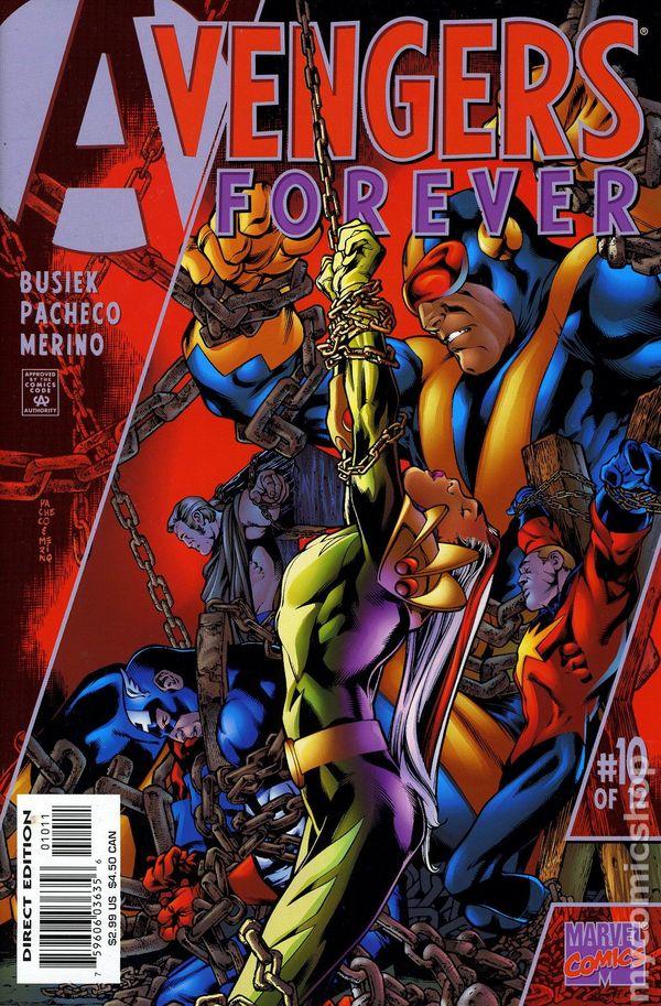 Avengers Forever 1998 Comic Books border=