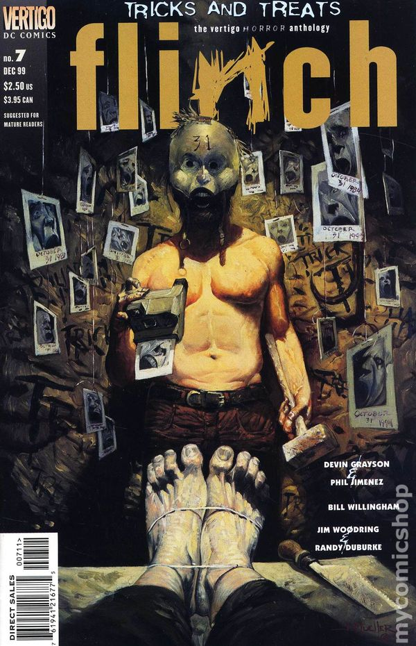 flinch  1999  comic books