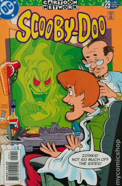 Scooby Doo 1997 Dc Comic Books