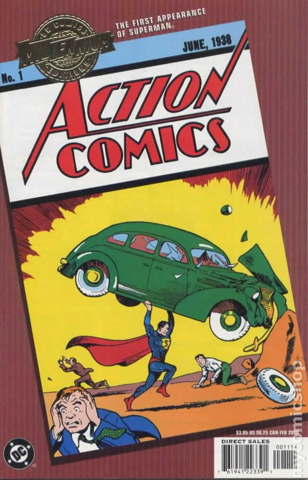 """ANNUAL #1 9.2 NM /""""CRY VAMPIRE!/"""" 1938 ACTION COMICS"""