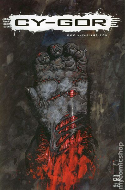 Cy-Gor #3 1999 Image Comics Todd Mcfarlane