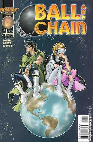 ball and chain fumetto