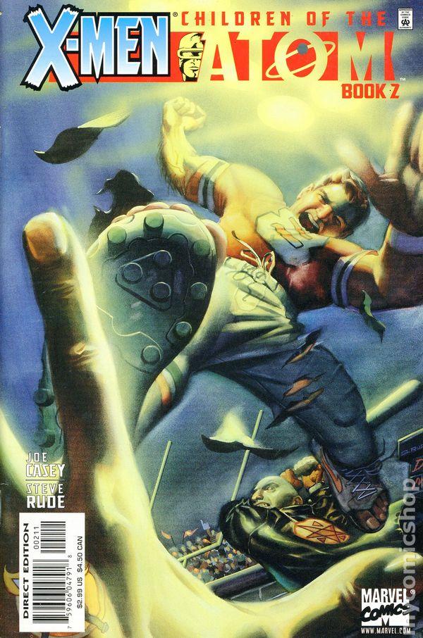 X Men Children Of The Atom 1999 Comic Books