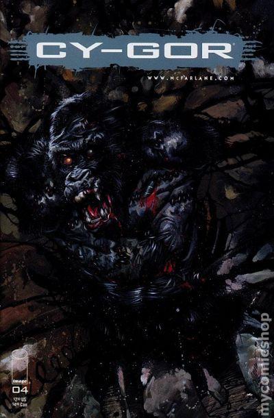 Cy-Gor #6 1999 Image Comics Todd Mcfarlane