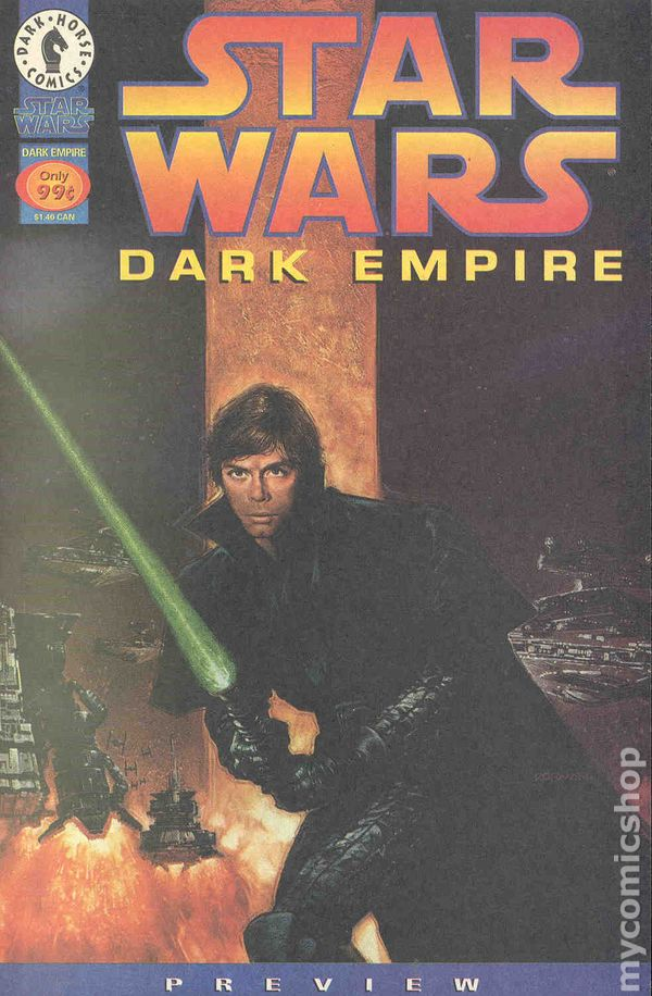 STAR WARS DARK EMPIRE #1-6 VERY FINE// NEAR MINT COMPLETE SET 1991