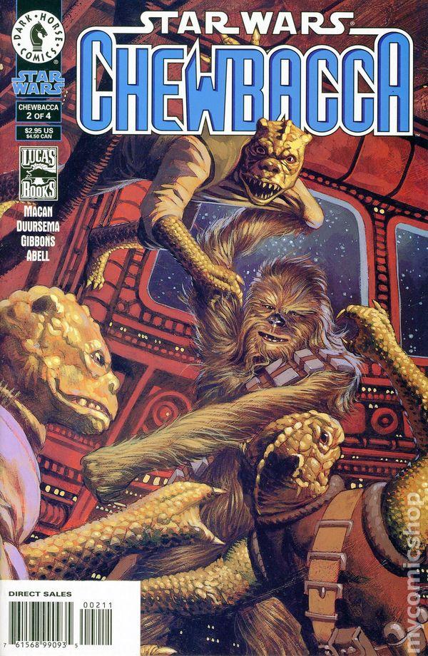 Star Wars Chewbacca 2000 Dark Horse Comic Books