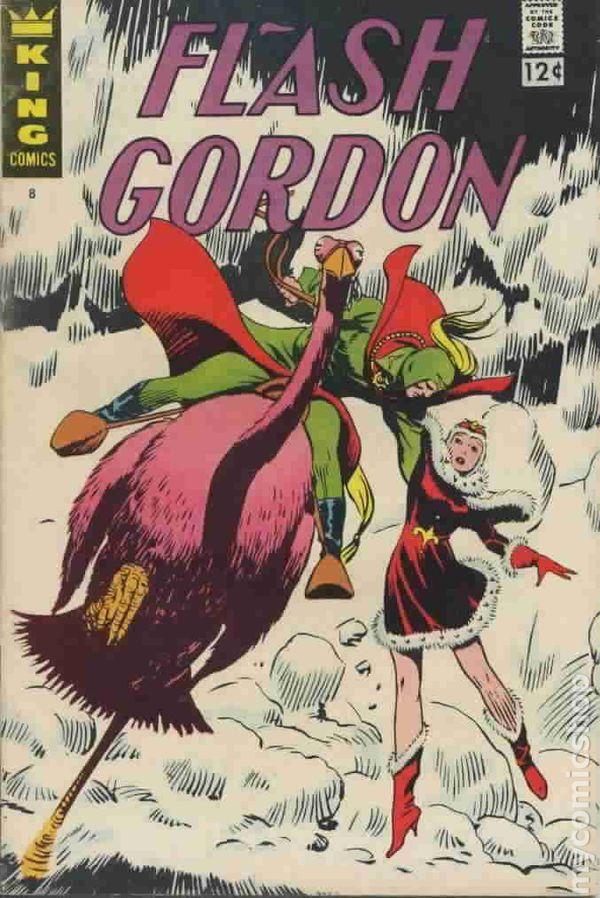 Flash Gordon 1966 King Charlton Gold Key Comic Books