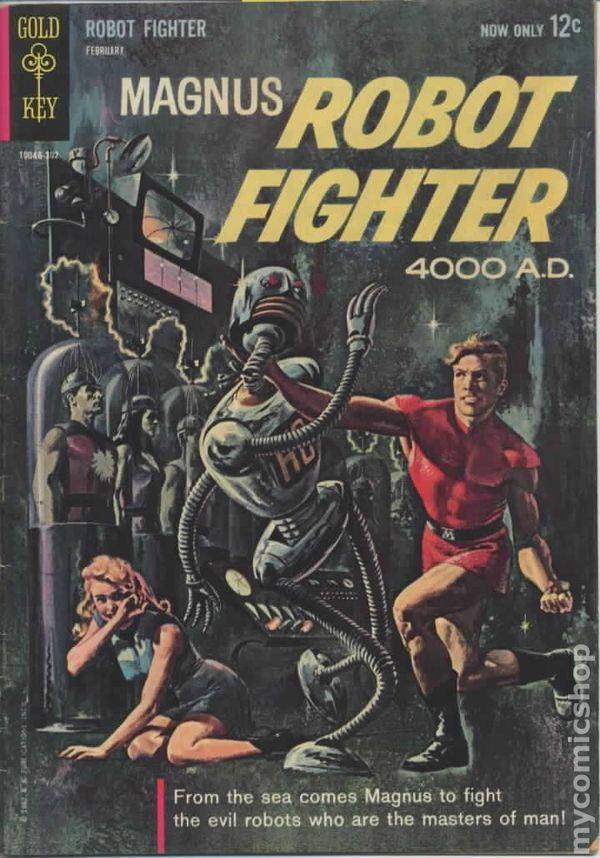 Image result for magnus robot fighter #1