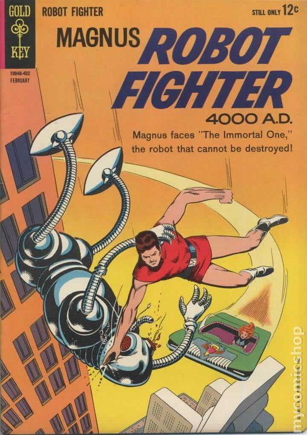 magnus robot fighter  1963 gold key  comic books