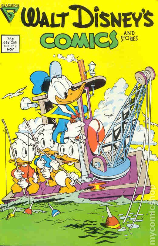 Walt Disney/'s Comics and Stories #534 FN 1988 Stock Image