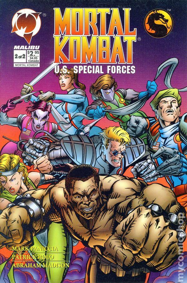 mortal kombat special forces