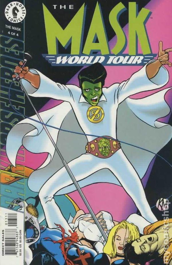 mask world tour 1995 comic books