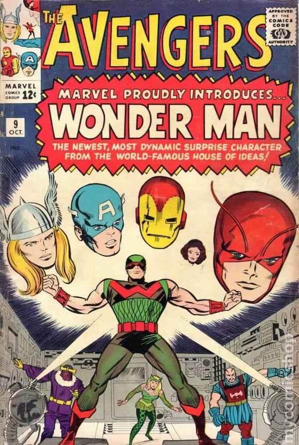 Znalezione obrazy dla zapytania avengers #9 1961