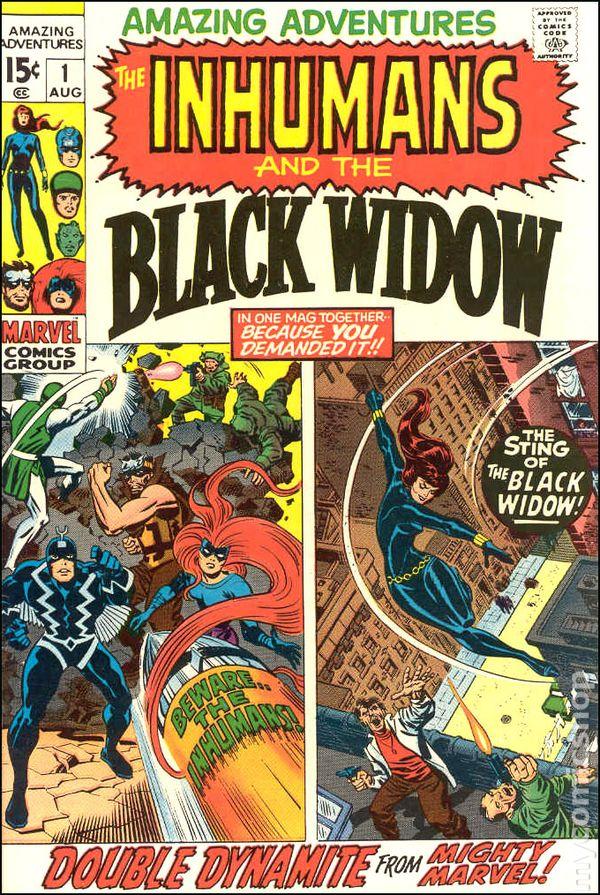 amazing adventures  1970 2nd series  comic books