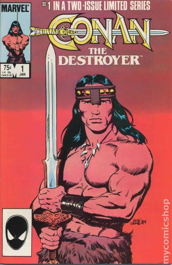 Conan the Destroyer (1985 Movie Comic) comic books