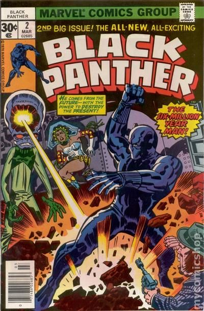 Image result for black panther comic book