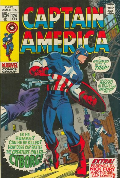 Thought Avengers captain america comic book covers