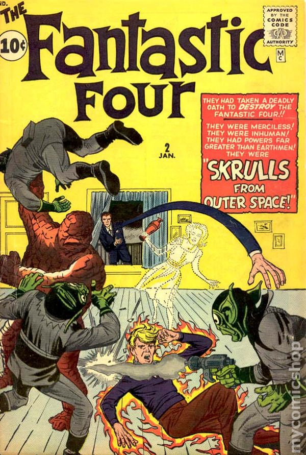 fantastic four 1961 1st series comic books. Black Bedroom Furniture Sets. Home Design Ideas
