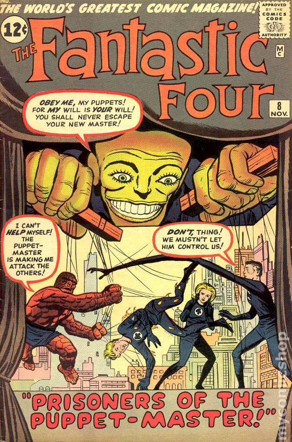 Image result for fantastic four 8 cover