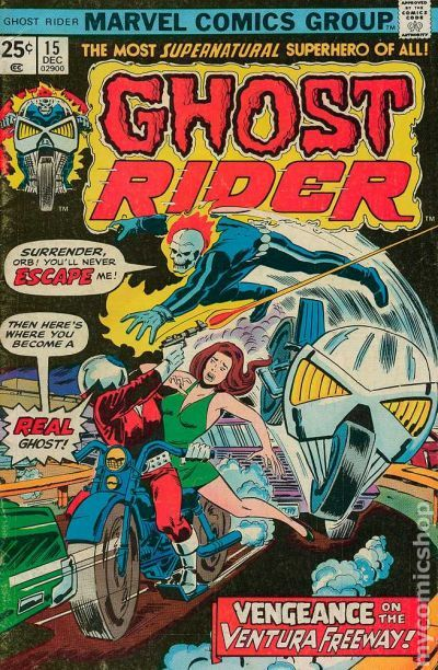Ghost rider 15 comic book