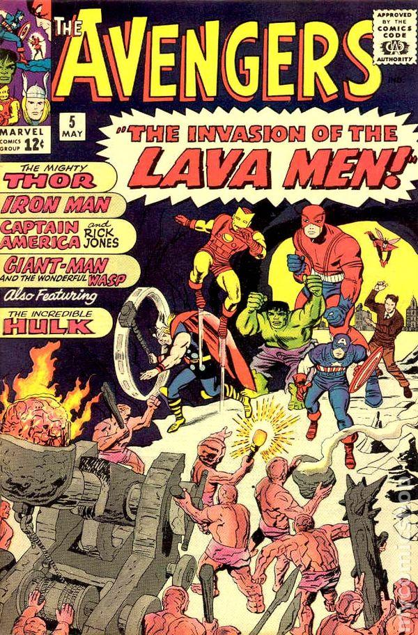 Avengers 1963 1st Series 5
