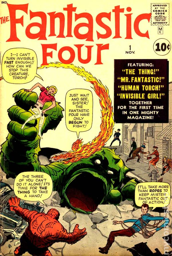 Fantastic Four (1961 1st Series) comic books