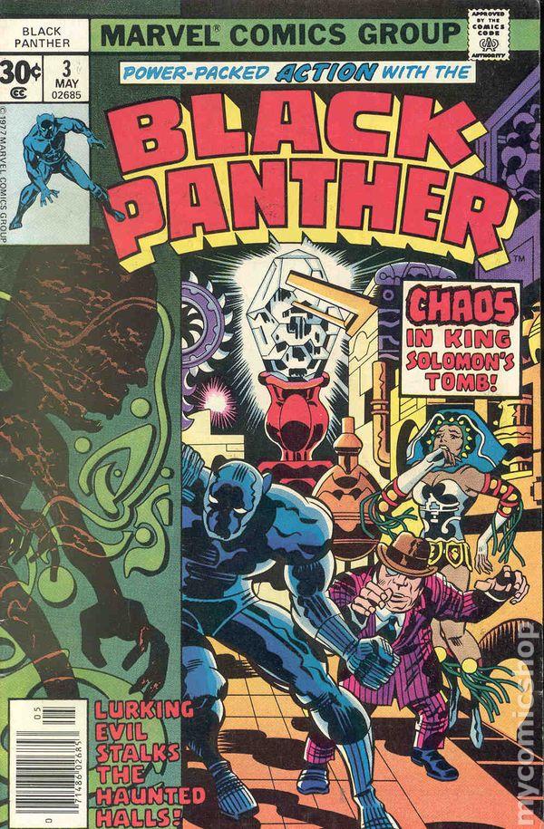 black panther  1977 marvel 1st series  comic books