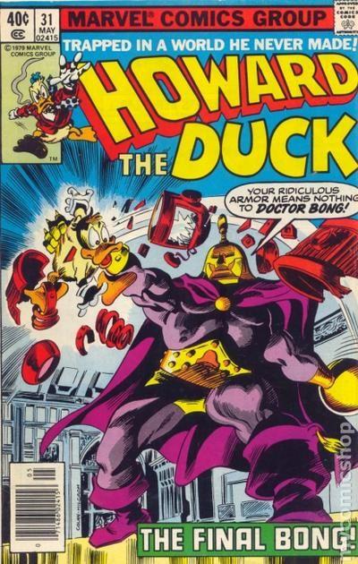 Howard The Duck Marvel Comics