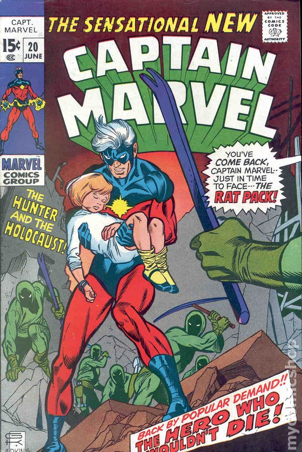 captain marvel 1968