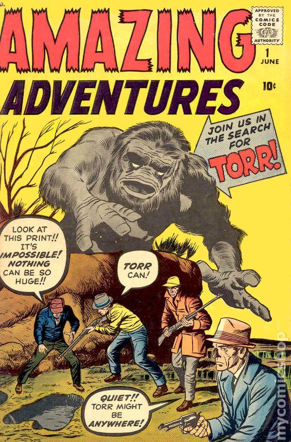 Amazing Adventures 1961 1st Series Comic Books