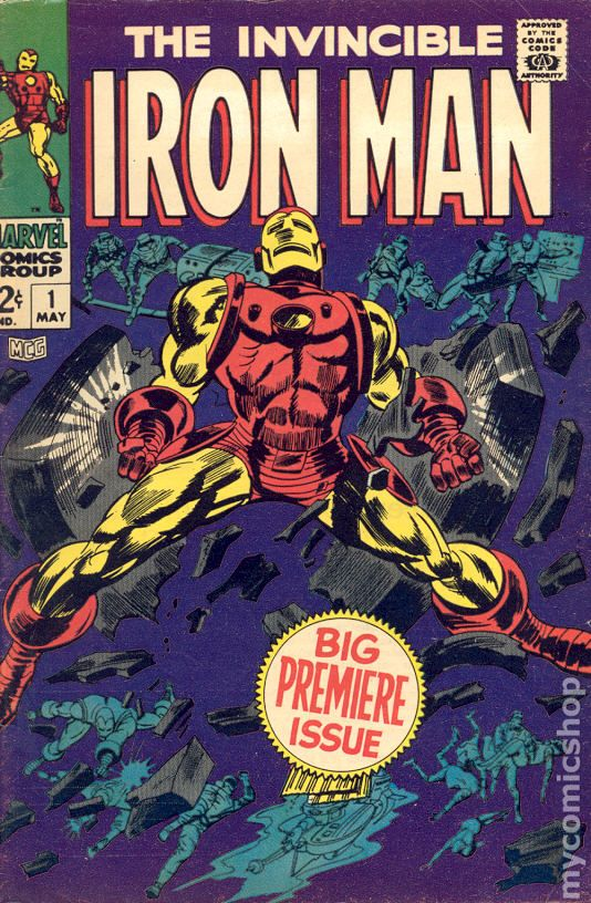 Image result for first iron man issue