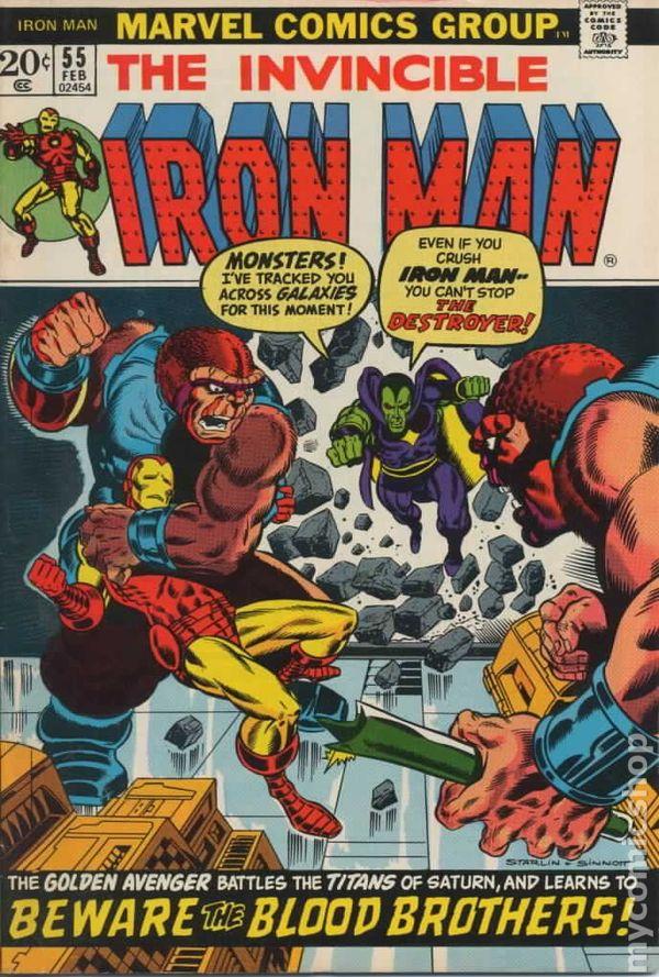 iron man comic books issue 55