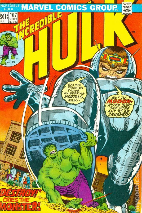 Beautiful Incredible Hulk #160 Vf Comics 7.5