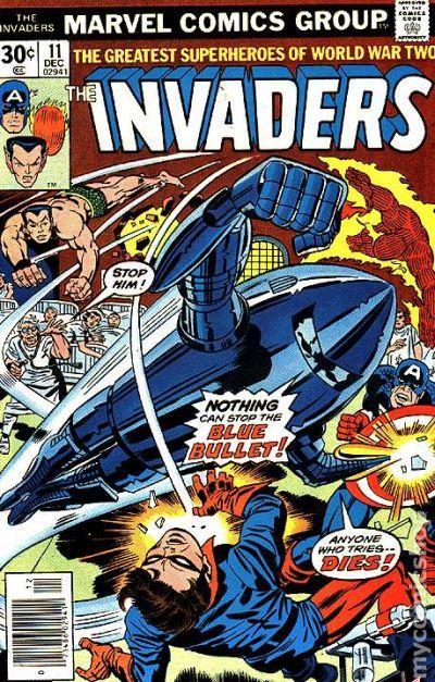 Invaders 1975 Marvel 1st Series 11