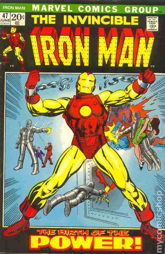 iron man comic books issue 47