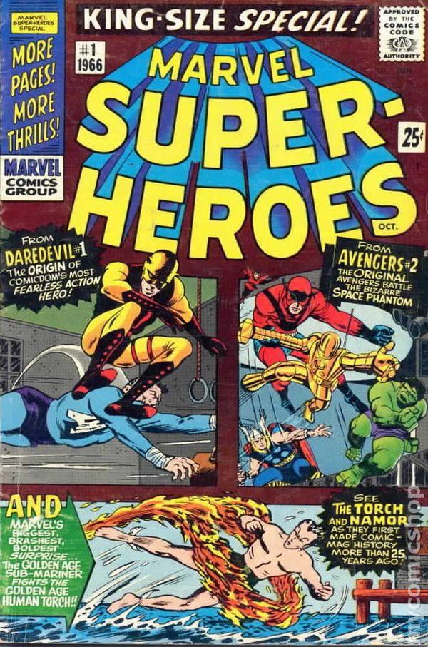 Marvel Super Heroes 60 Superhéroes: Marvel Super Heroes (1966 1st Series) Comic Books