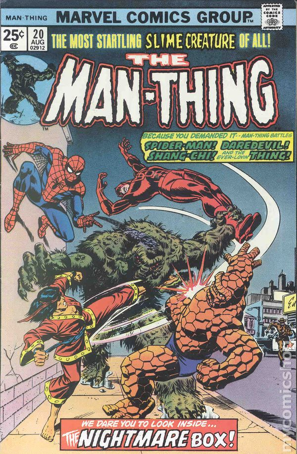 Man-Thing Series) books comic (1974 1st